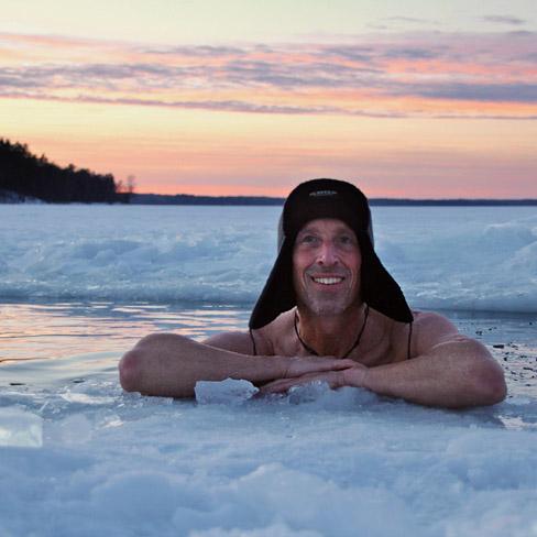 ijszwemmen in Rusland